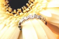 Alliance diamants, or blanc 18K